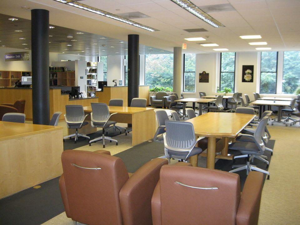 Interior of Iwasaki Library